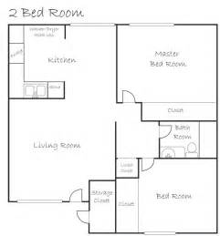 Simple House Plans With Photos Of Interior Placement by 2 Bedroom Layout