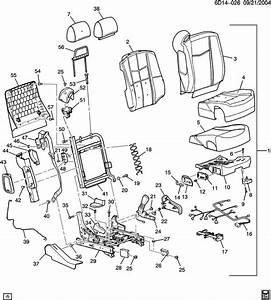 Cadillac Cts Seat Asm  Driver  Seat Asm  Passenger