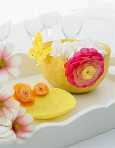 Papillon Papier De Soie : une vaisselle en papier de soie marie claire ~ Zukunftsfamilie.com Idées de Décoration