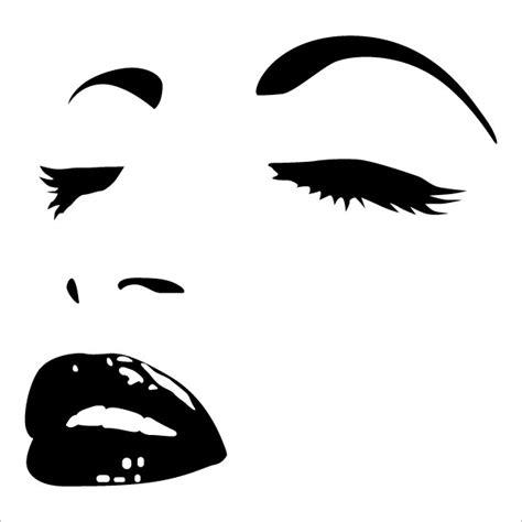 chambre blanc et taupe stickers visage femme achetez en ligne