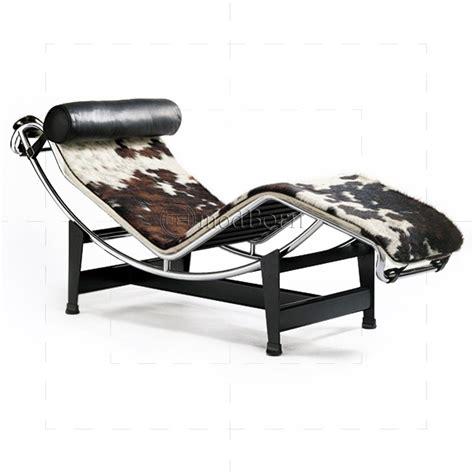 chaise longue lc 4 le corbusier style lc4 chaise longue pony leather