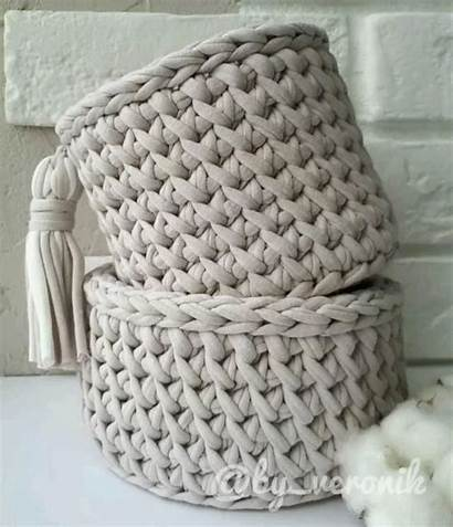 Crochet Pattern Basket Magic Projects Bedspread