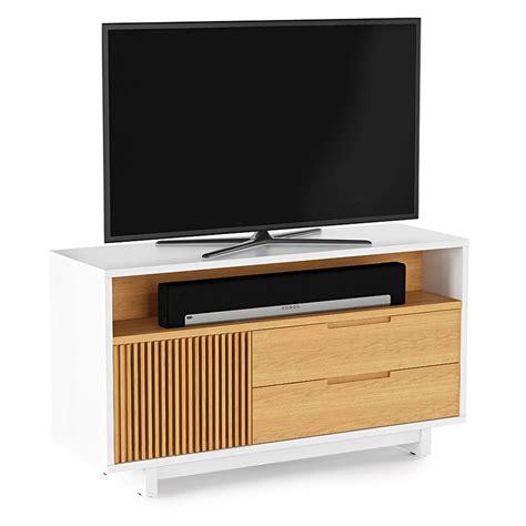 Bdi Home Theater Furniture by Bdi Vertica Tall Oak Modern Tv Stand Eurway Furniture