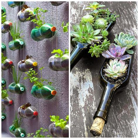 Garden Decoration Items by 40 Creative Diy Gardening Ideas With Recycled Items