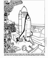 Space Coloring Pages Shuttle Printable Sheets Colouring Help Printing Sheet sketch template