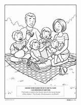 Coloring Pages Lds Primary Clipart Children Colouring Murrayandmathews Printable sketch template