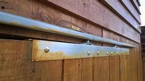 Rail Porte Coulissante Exterieure : porte coulissante sur un abri de jardin 20 messages ~ Dallasstarsshop.com Idées de Décoration