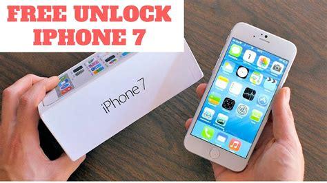 free iphone unlock unlock iphone 7 free how to unlock iphone 7 and 7 plus