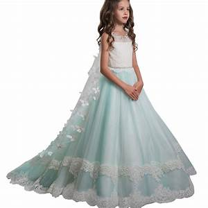 The Hot Dress Girls Princess Dress Wedding Dress Long