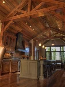 Best exposed beam ceilings ideas on wood