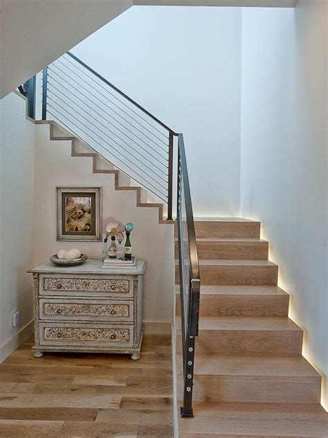 contemporary  space  stairs pictures hgtv