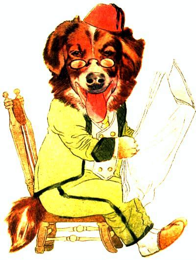 Public Domain Vintage Childrens Book Illustration Animal