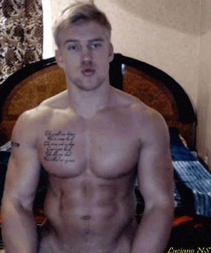 Blonde Guys Shirtless Models Hunk Male Henir