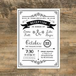 reception only wedding invitations 25 best ideas about reception invitations on wedding reception invitations