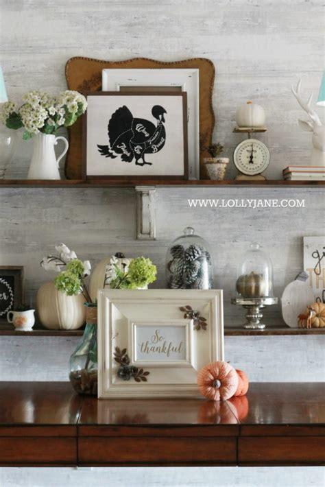 decor shelf thanksgiving dining room decorations lolly jane