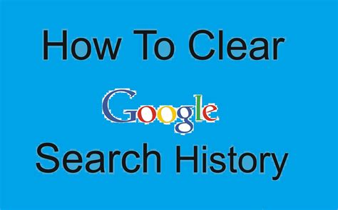 delete phone history how to delete entire search history track my