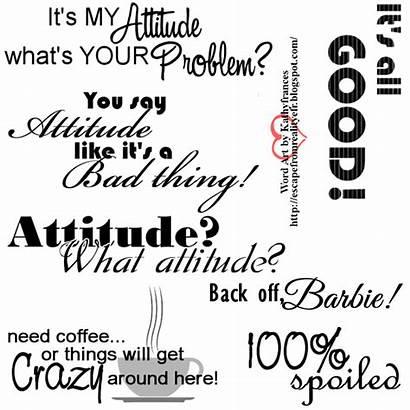 Word Attitude Ftu Bee