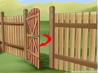 how to build a wooden gate How to Build a Wooden Gate: 13 Steps (with Pictures) - wikiHow