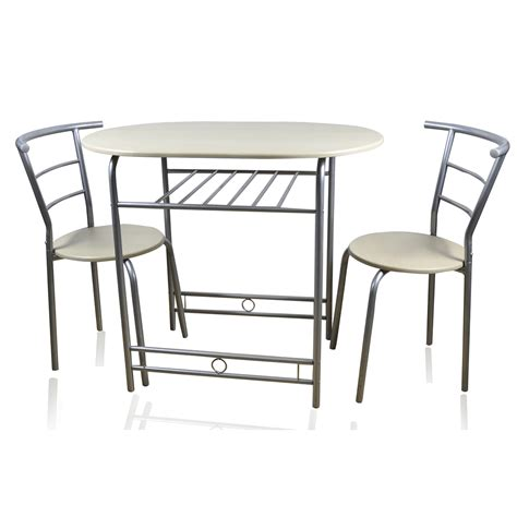 2 Seat Dining Table Sets Home Accessories 90cm Honeymoon
