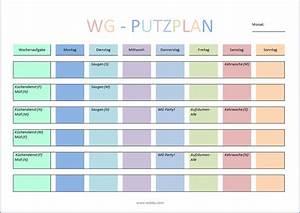 Haushaltsplan Für Teenager : putzplan vorlage f r singles paare familie wg ~ Lizthompson.info Haus und Dekorationen