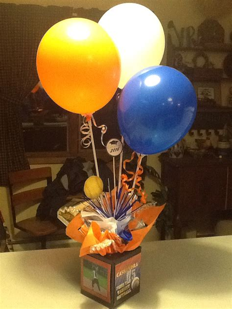 diy balloon table centerpieces diy graduation party centerpiece painted tissue boxes pictures balloon sticks grad party
