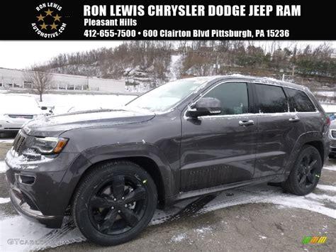 jeep granite crystal 2016 granite crystal metallic jeep grand cherokee overland