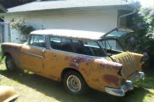 Tailgate Bench Seat by 1955 Chevrolet Nomad Project For Sale Photos Technical