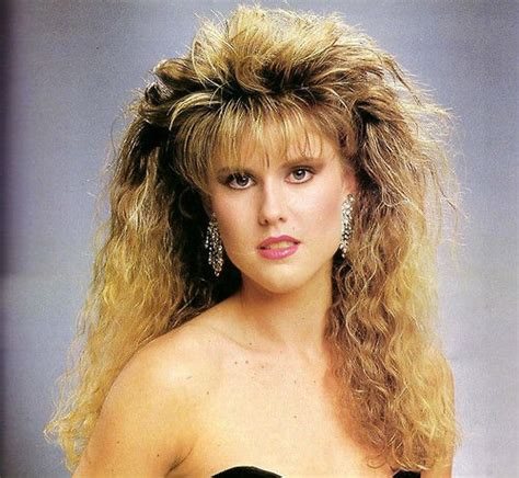 80s Hairstyle by What Were We Thinking A Look Back At 80s Hairstyles