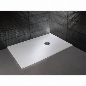 Bac De Douche Extra Plat 140 X 90 : receveur de douche carr nature extraplat hidrobox ~ Edinachiropracticcenter.com Idées de Décoration
