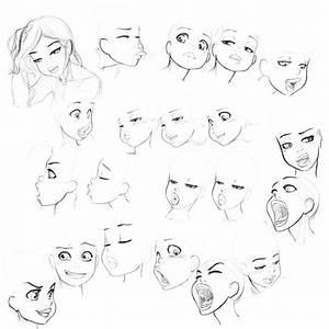 21 best Ref - Anime - Female Face images on Pinterest ...