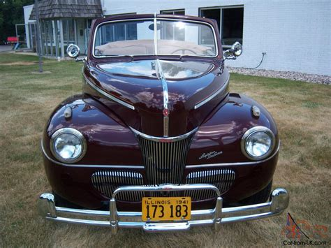 1941 ford deluxe convertable restored v8