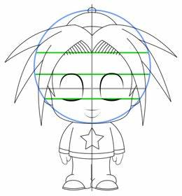 How to Draw Chibi Cartoon Characters