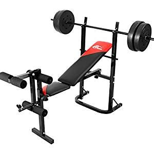 Home Bench Press Machine by Ainfox Adjustable Weightlifting Bed Weight