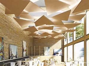 Acoustic ceiling clouds ROCKFON Eclipse® by ROCKFON