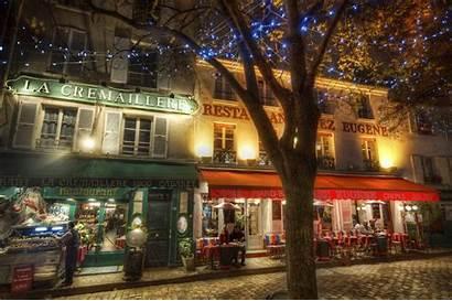 Paris Italian Wallpapers Cafe Desktop Montmartre Restaurant