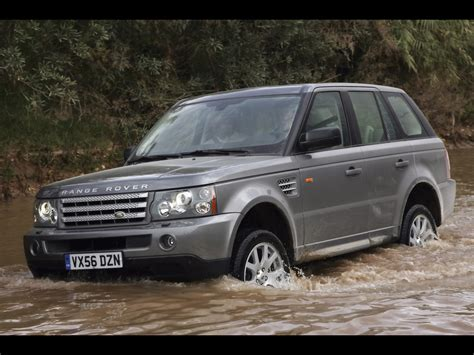 land rover water 2008 land rover range rover sport front and side water