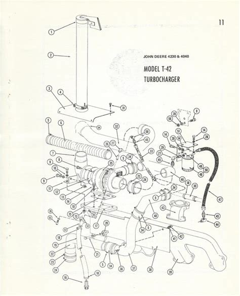 4230 Deere Wiring Diagram by Deere 4230 T 42 Turbo Kits M W Rajay Garrett