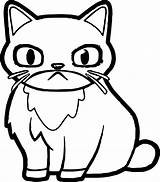 Grumpy Coloring Cat Angry Pages Printable Amazing Getcolorings Wecoloringpage Getdrawings sketch template