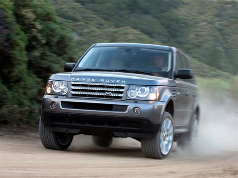 Land Rover Range Rover Sport Wallpapers by Range Rover Sport Supercharged Us Spec 2008 09 Wallpapers