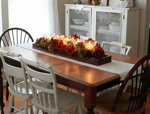 Fabulous kitchen table centerpieces presented with bright for Kitchen table decor ideas