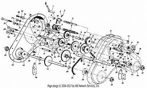Mtd Jc Penney Mdl 850 0434a Parts Diagram For Transmission