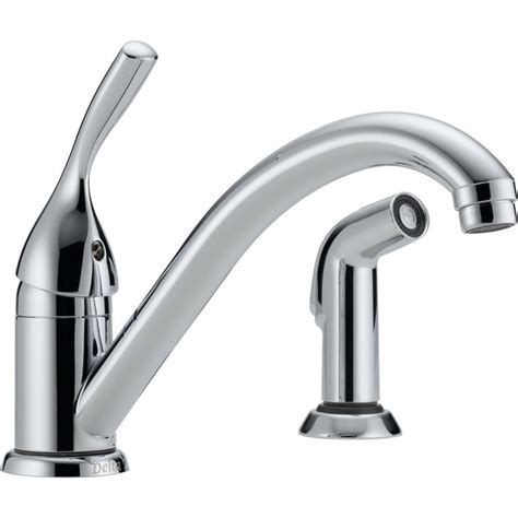 how to install a delta kitchen faucet delta single handle standard kitchen faucet with