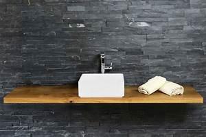 Waschtisch Holz Massiv : waschtisch holz auf ma eiche massiv ~ Lizthompson.info Haus und Dekorationen