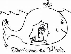 Story Of Jonah And The Whale Coloring Page U064au0648u0646u0633 U0639u0644u064au0647