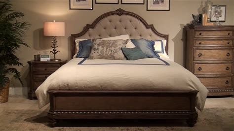 touraine panel bedroom set  fairmont designs youtube