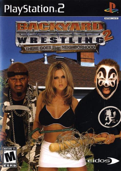 Backyard Wrestling 2 Sony Playstation 2 Game