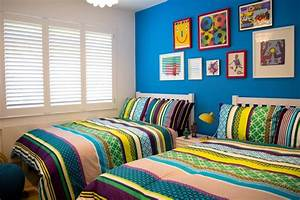 Colourful boys bedroom - Contemporary - Kids - london - by