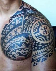 68 Perfect Samoan Shoulder Tattoos
