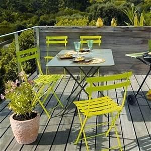 Table De Jardin Bistrot : table bistrot jardin 412160 interieur decoration ~ Teatrodelosmanantiales.com Idées de Décoration