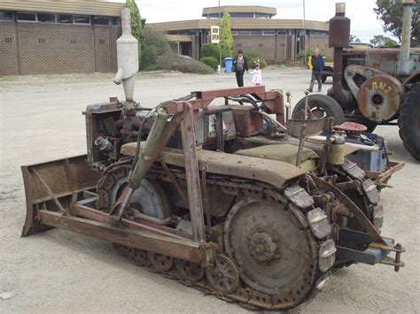 homemade tractor 1950 39 s home made crawler tractor hand made crawl tractor